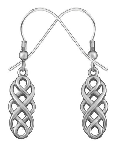 Celtic Unity Knot Earrings 316L