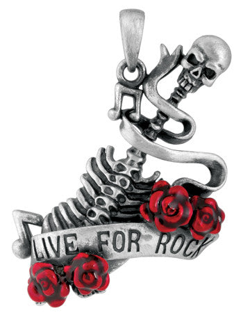 Live for Rock Pendant