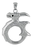 Dragon Wreath Pendant 316L