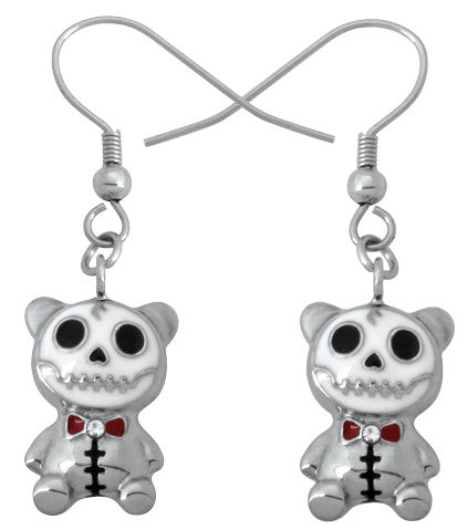 Furrybones Pandie Earrings 316L