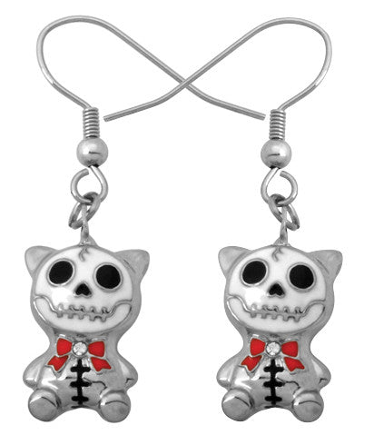 Furrybones Mao-Mao Earrings 316L