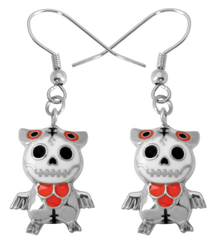 Furrybones Hootie Earrings 316L