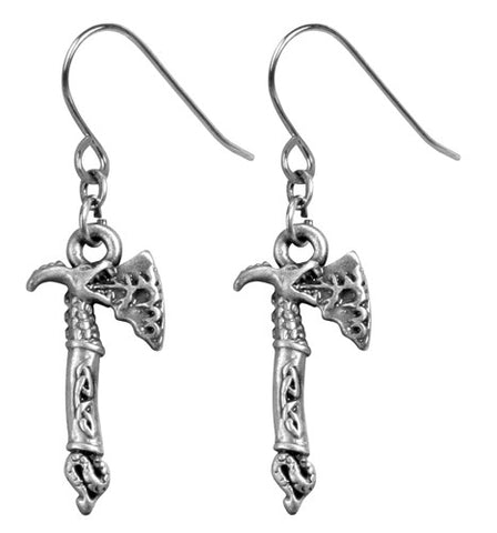 Fire Dragon Axe Earrings