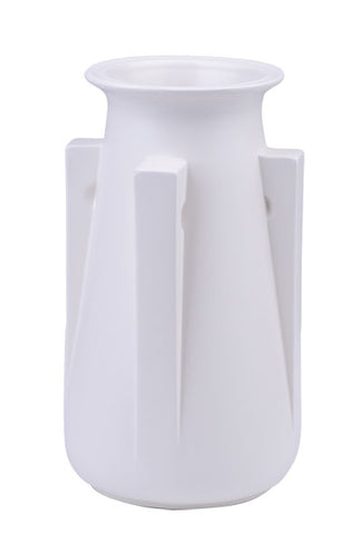 TECO 4 Buttress Vase - White
