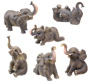 Baby Elephant - Set of 6