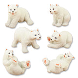 Polar Bears (Set of 6)