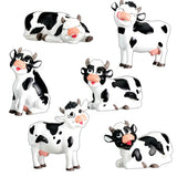 Cow, (Set of 6)