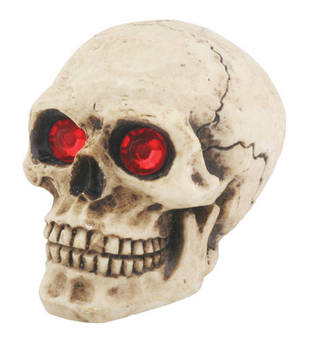 Skull Shift Knob with Red Eyes