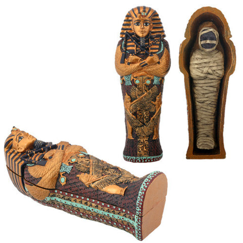 Small King Tut Coffin with Mummy