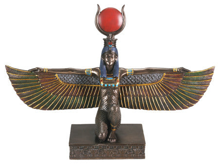 Bronze Isis with Open Wings