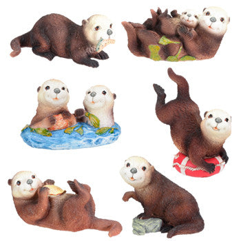 Sea Otters (Set of 6)