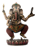 Dancing Ganesha on Lotus