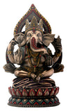 Seated Ganesha on Lotus