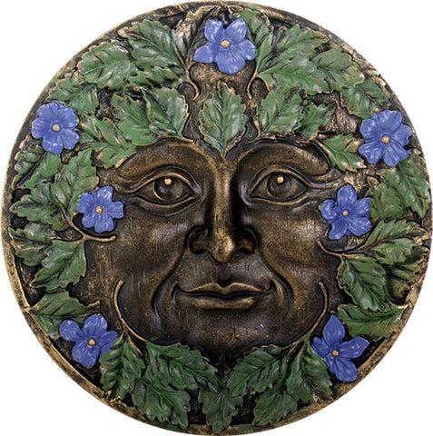 Greenman Plaque Spring