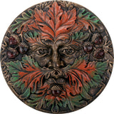 Greenman Plaque Fall