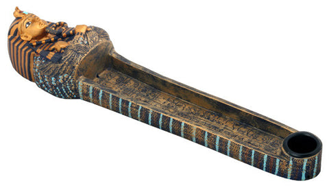 Tut Coffin Incense Burner