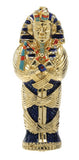 King Tut Coffin Jeweled Box