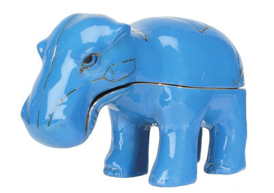 Hippo Jeweled Box