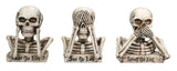 No Evil Skulls (Set of 3)