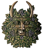 Greenman Spring Plaque