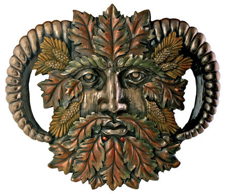 Greenman Fall Plaque