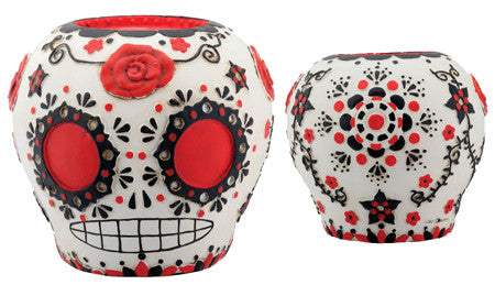 Day of the Dead / Dia de los Muertos Sugar Skull - Red