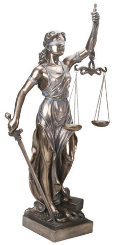 3ft Lady Justice Statue