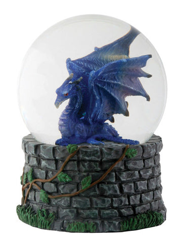 Midnight Dragon Water Globe (65mm)