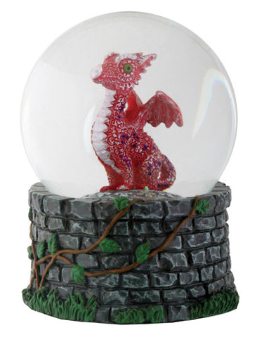 Red Baby Dragon Water Globe (65mm)