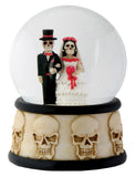 DOD - Wedding Couple Water Globe (65mm)