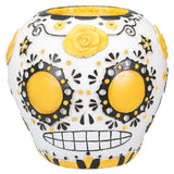DOD - Sugar Skull - Yellow