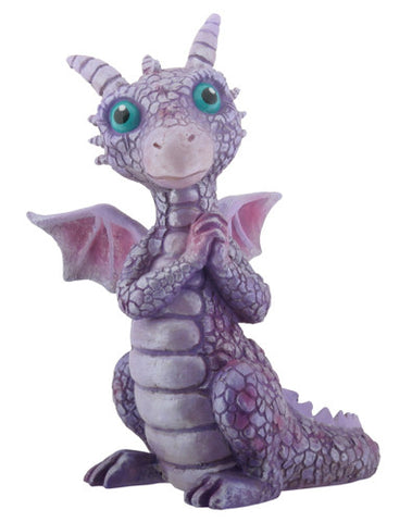 Purple and Pink Baby Dragon