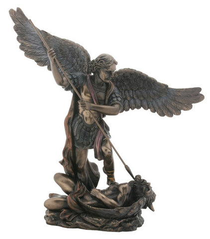 St Michael With Spear