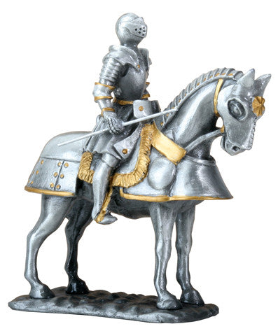 English Knight on Horse