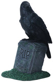Raven on Tombstone