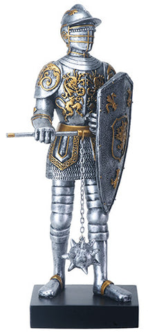 "12"" Gothic Knight with Mace"
