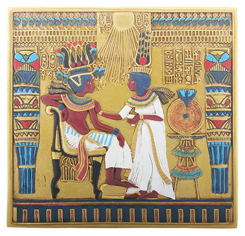 Tut Throne Plaque