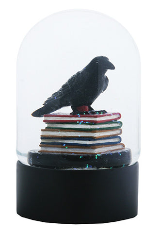 Quoth the Raven Water Globe