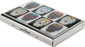 DAY OF THE DEAD SUGAR SKULL Credit Card Case