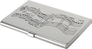 Music Score BUSINESS CARD CASE