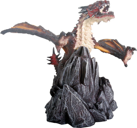 Fiero Dragon on Rock