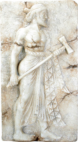 Vulcan, Roman relief from of Herculaneum