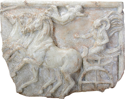 Victory of the Four Horse Chariot Race