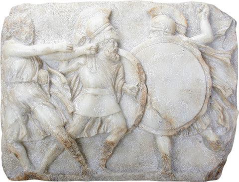 Greek Hoplites in Battle