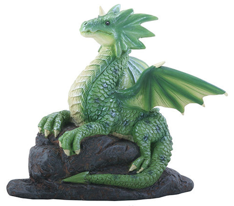 Dragon On Rock
