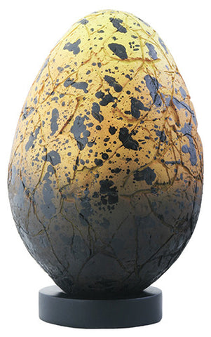 Dragon Fossil Egg - Yellow and Black