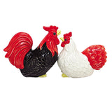 Rooster and Hen Salt & Pepper Set
