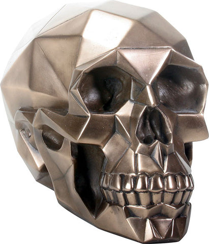 Bronze Polygon Skull