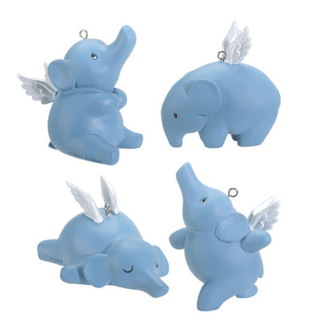Flying Elephants Elena - Set of 4