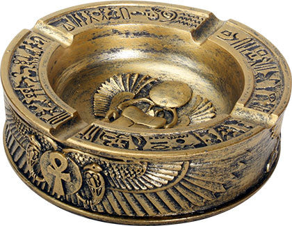 Winged Scarab Ashtray